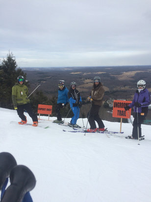 Elk Mountain Ski Resort - From the crick and the blue we had fun here too  - ©iPhone