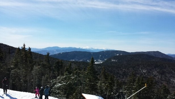 Sunday River - Fantastic day at Sunday River.  We had a better time than we ever expected to get during this