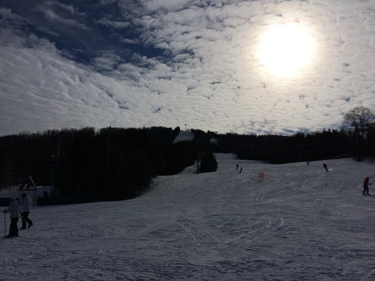 Elk Mountain Ski Resort - Firsthand Ski Report - ©kevin's iPhone