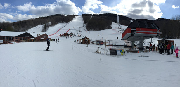 Sunday River - Very good conditions right now. Lots of terrain open, great grooming.  You won't be disappointed. - ©Big C