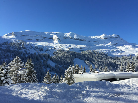 Flaine - This morning was glorious  - ©Jane's iPhone (2)