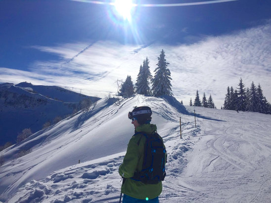 Flaine - It doesn't get any better :-) - ©Chris's iPhone 6+