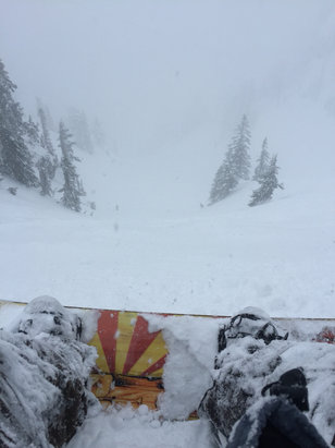 Alpental - Firsthand Ski Report - ©Earl's iPhone