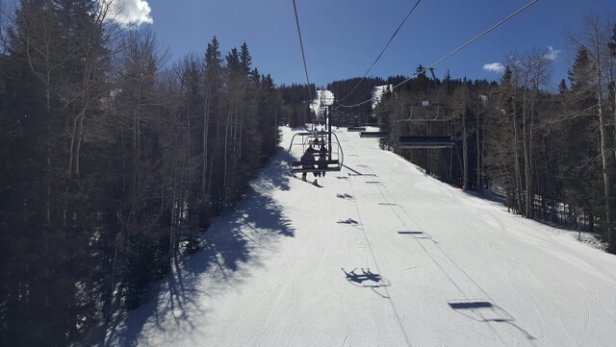 Ski Santa Fe - great skiing today. new snow.  - ©hg3law