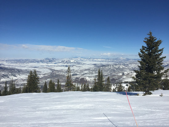 Steamboat - Top of the Mountain epic conditions am really enjoying it can't wait for the snow! - ©Texas Firefighter