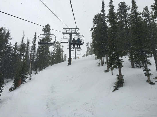 Eldora Mountain Resort - Big snow storm - ©Mike's Phone