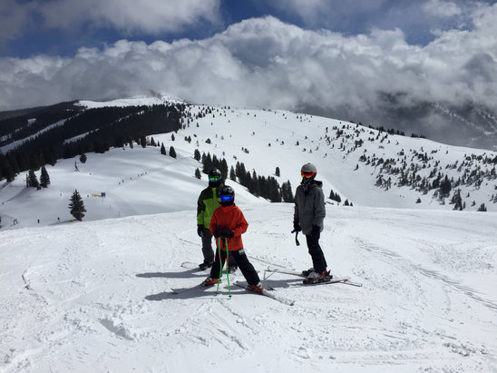 Vail - Firm in the morning but heavy snow and softer in the morning.  - ©AndoverG8rs
