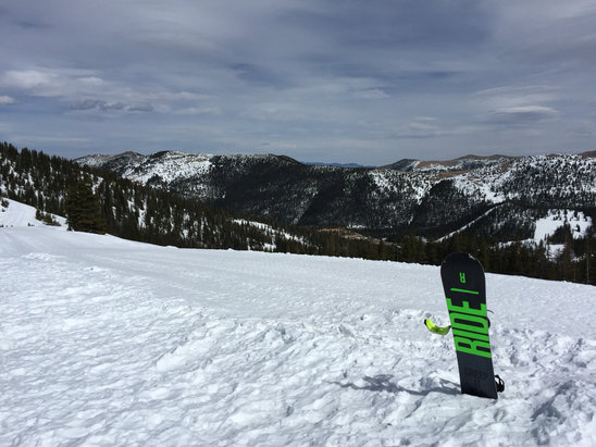 Monarch Mountain - Not too bad for spring. Today was warm and icy. Conditions might change with the storms coming up.  - ©Jorge J.'s iPhone