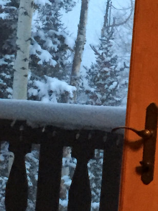 Telluride - Six new inches and still snowing - ©iPhone