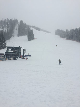 Winter Park Resort - So much powder!!! - ©Scott's phone