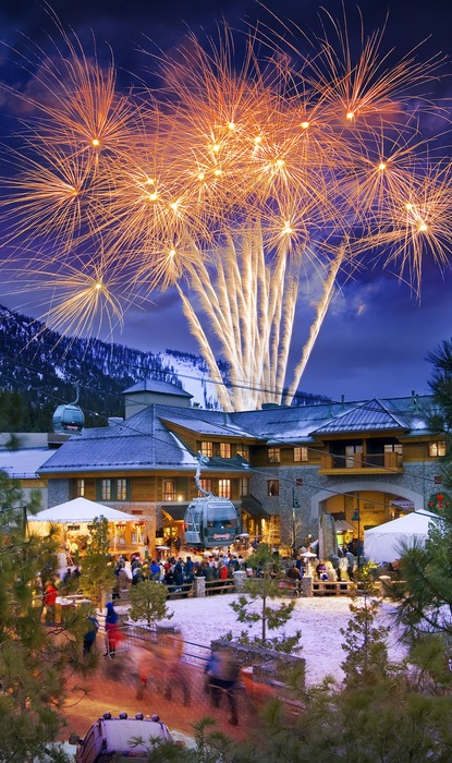 The 50th anniversary fireworks at Heavenly CA
