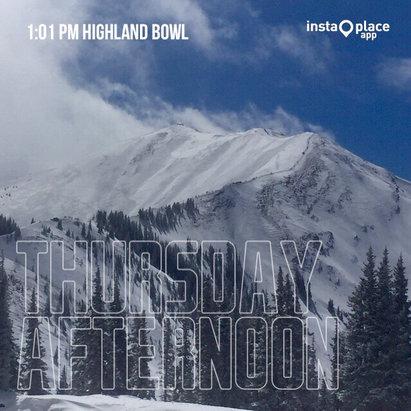 Aspen / Snowmass - Great day at Aspen Highlands! - ©Kyle's iPhone