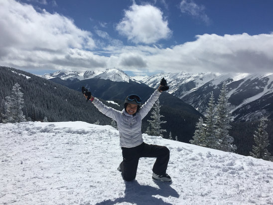 Aspen / Snowmass - Great day, good at top of Ajax  - ©KATHRYN E's iPhone