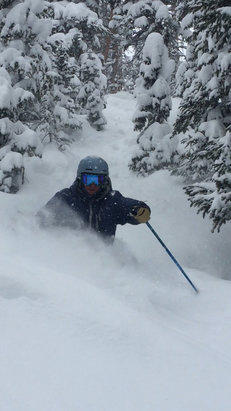 Winter Park Resort - Super secret stash in the Jane trees!  - ©Tom Coco i6