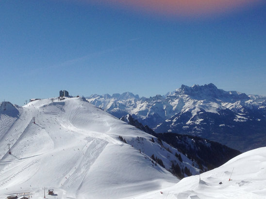Leysin - Sorties de ski - ©iPhone 5 Eliane Collaud