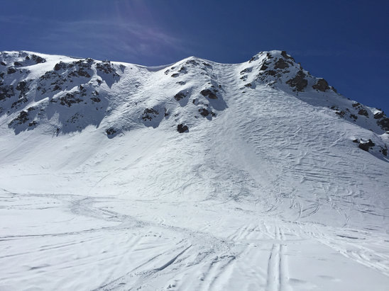 Les Menuires - Firsthand Ski Report - ©eric's iPhone