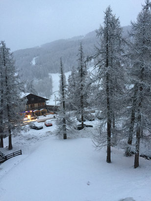 Vars - Le retour de la neige !  - ©iPhone de Julien
