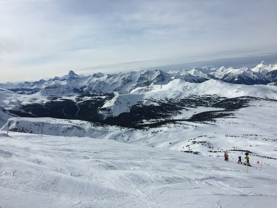 Sunshine Village - Awesome place. Thank you! - ©david's iPhone