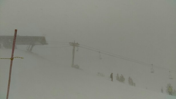 Copper Mountain Resort - Everyone who is skiing/riding tomorrow (Wednesday)...You are in for a treat! This is still going on. Photo at 2:03pm, upper west side of mountain. Awesome day, but windy & chilly with the snowfall. LOVE IT! - ©theprojectzacko