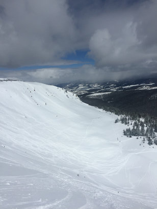 Winter Park Resort - The cirque was on point today  - ©Greg Hemenway's iPhone