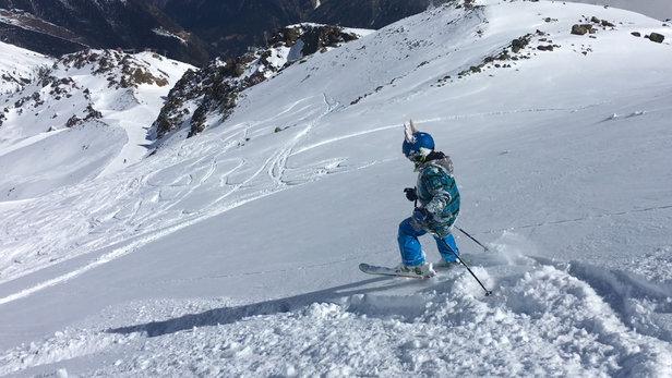 Sölden - Firsthand Ski Report - ©iPhone