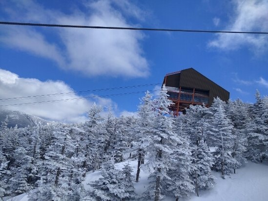 Cannon Mountain - Good day. Closing weekend - ©LeMans Ventre