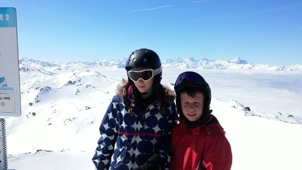 Val Thorens - brilliant week. still going to be good for a few weeks yet - ©familyellis73