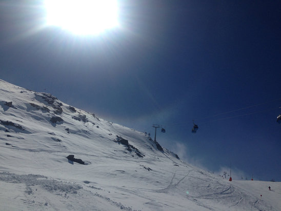Obergurgl-Hochgurgl - Firsthand Ski Report - ©Jenny's iPhone