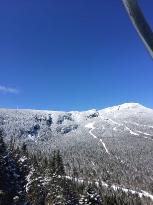 Stowe Mountain Resort - Sunday was great. Hoping it holds up! - ©seanpuckphone