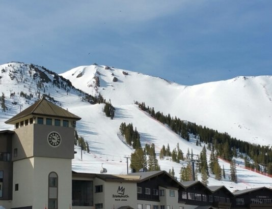 Mammoth Mountain Ski Area - Sensational, better than Spring Skiing/Boarding!! Fantastic!  - ©claybanks