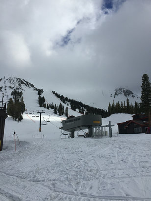 Mammoth Mountain Ski Area - Main lodge. 4