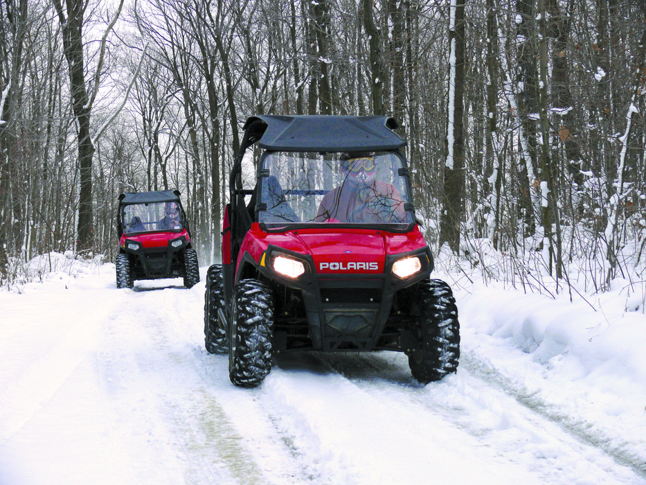 UTVs touring at Seven Springs PA