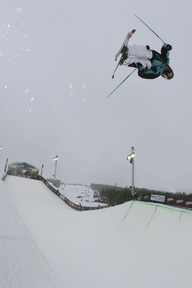 Simon Dumont at Snowbasin UT Dew Tour