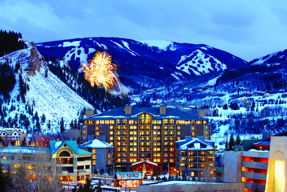 Fireworks over the Beaver Creek Westin