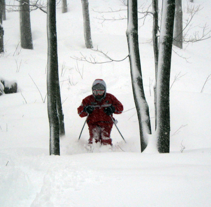 Skier at Owl's Head, Quebec