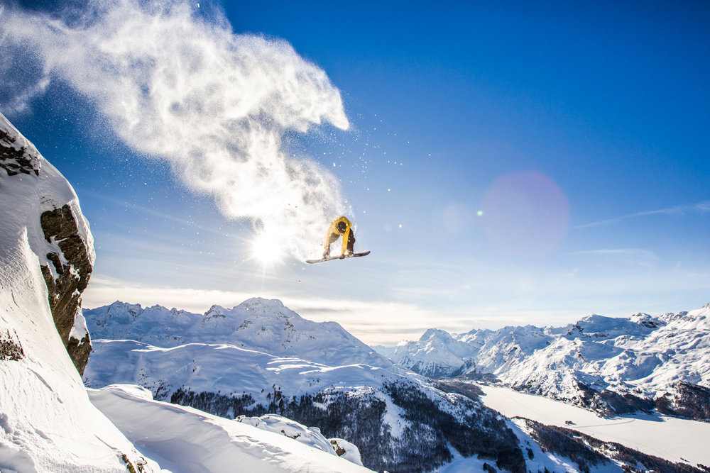 Iker Fernandez in St. Moritz (SUI) - ©Red Bull Illume | Vernon Deck