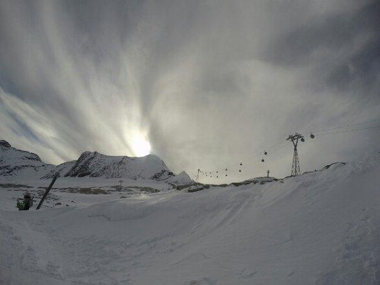 Kitzsteinhorn - Kaprun - Viel Wind und Wolken  - ©edlermonoski