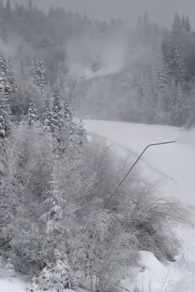 Tremblant - Beautiful day, 9 runs open with few icy patches - ©OGL