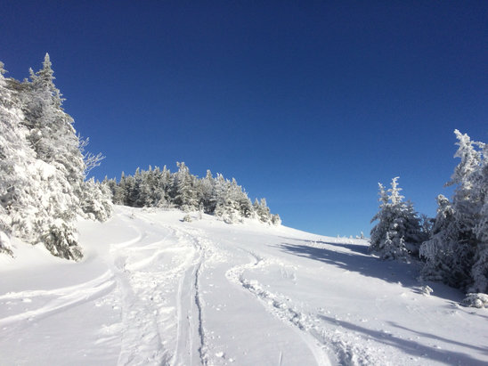 Stowe Mountain Resort - It's winter up here! Better than most all of last season.  - ©hammertime