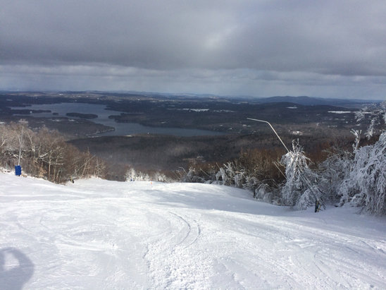 Mount Sunapee - I was there yesterday (Friday 12/9), conditions were terrific on Blast Off and Wingding.  - ©Dad