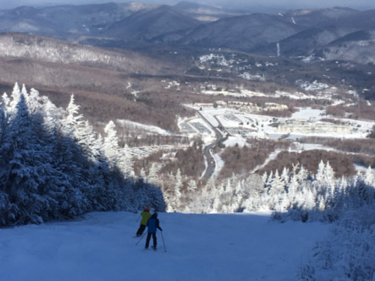 Killington Resort - Great conditions early with lots of natural trails being the most fun. Amazing snow for this early in the season. Icy late.     - ©brianski