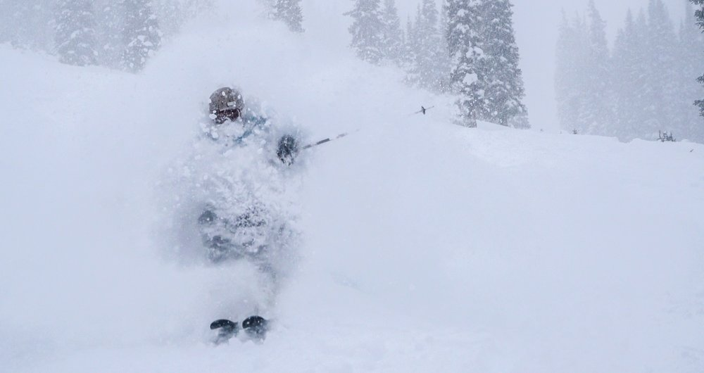 Mary Jane's opening conditions at Winter Park weren't bad... unless you like moguls. - ©Carl Frey/Winter Park Resort
