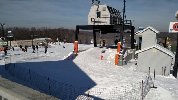 Paoli Peaks - Skied today, Tuesday the 20th, with 6