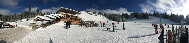 Brundage Mountain Resort - Just perfect! All trails are great, huge snow, started snowing again today. Awesome!!!   - ©TATA's iPhone
