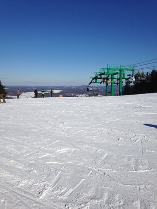 Elk Mountain Ski Resort - Nice conditions at Elk today. - ©SkiPoni