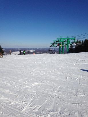 Elk Mountain Ski Resort - Nice conditions at Elk today. - ©SkiPoni