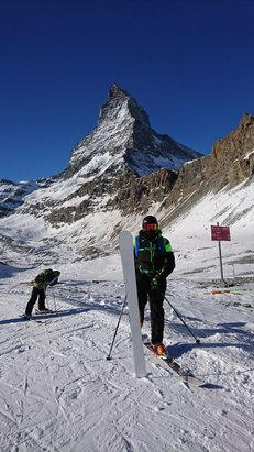 Zermatt - Superbe journée station incroyable    - ©iPhone de Raphael Turchi