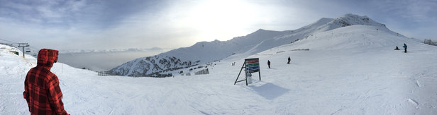 Marmot Basin - Great day at Marmot! - ©Des' iPhone