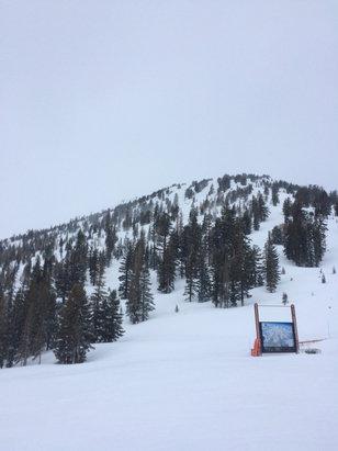 Mammoth Mountain Ski Area - My way home every night home from work. Lol  - ©adam's iPhone