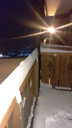 La Plagne - guess what...... yep..... still snowing! - ©sarah